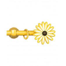Купить Карниз «Цветок», желтый