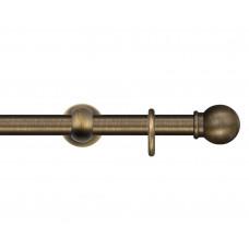"""Карниз """"Рубикон"""" D=20 мм. бронза"""