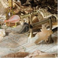 Купить латунные карнизы из Коллекции «Мурано классико»