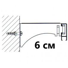 Универсальный замок крепления (стена,потолок) L=6 см. для профилей «СТ-41» ,«СТ-43»,«СТ-2005»,«СТ-2500»