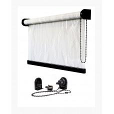 Рулонная штора «Люкс блэк» брутальный стиль для Вашего интерьера