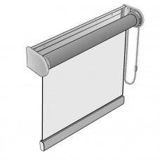 Рулонная штора «Люкс» для больших размеров